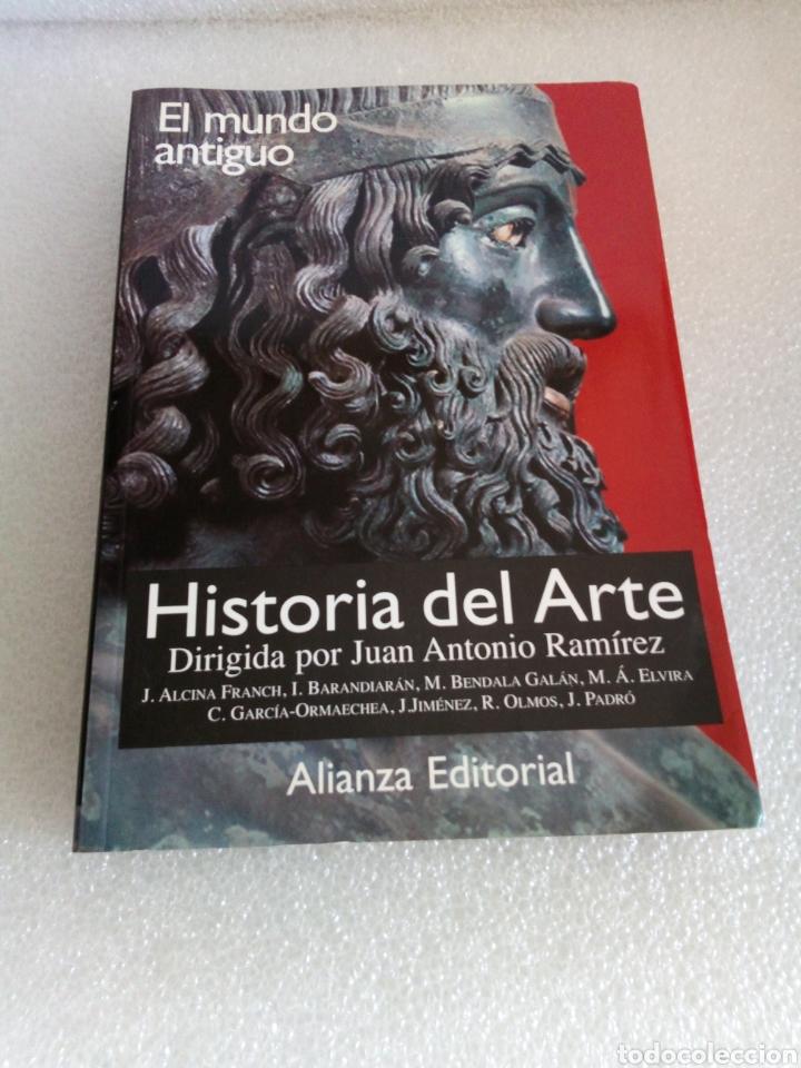 HISTORIA DEL ARTE 1. EL MUNDO ANTIGUO. JUAN ANTONIO RAMÍREZ. ALIANZA EDITORIAL (Libros de Segunda Mano - Bellas artes, ocio y coleccionismo - Otros)