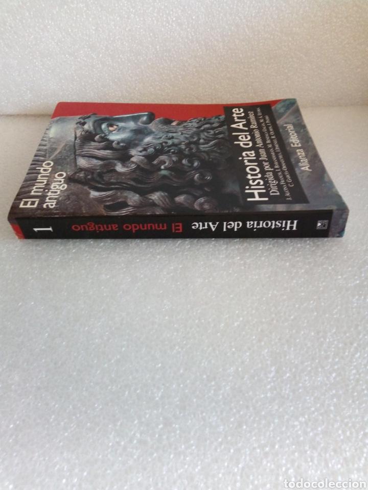 Libros de segunda mano: Historia del arte 1. El mundo antiguo. Juan Antonio Ramírez. Alianza Editorial - Foto 2 - 170161321