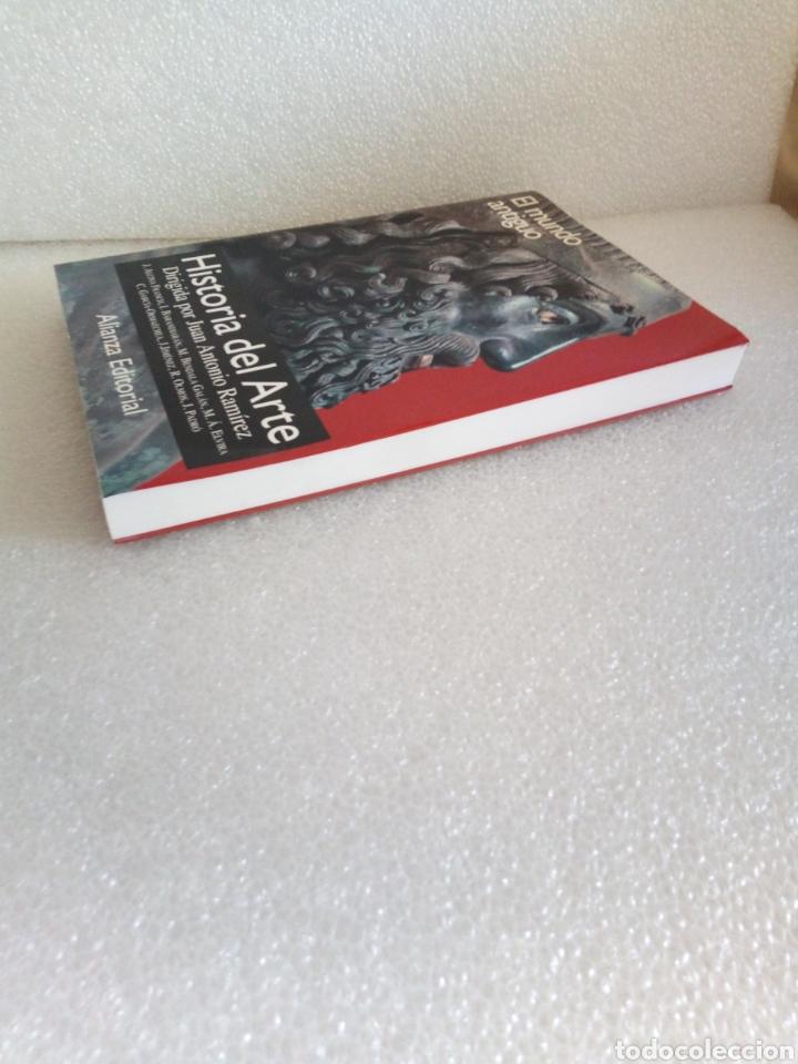 Libros de segunda mano: Historia del arte 1. El mundo antiguo. Juan Antonio Ramírez. Alianza Editorial - Foto 3 - 170161321