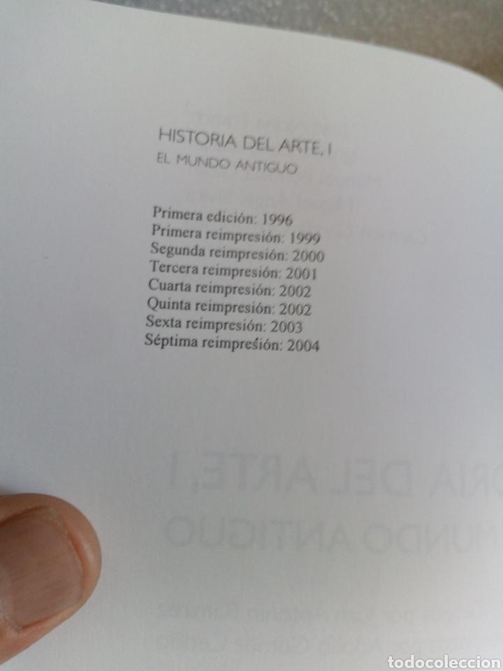 Libros de segunda mano: Historia del arte 1. El mundo antiguo. Juan Antonio Ramírez. Alianza Editorial - Foto 4 - 170161321