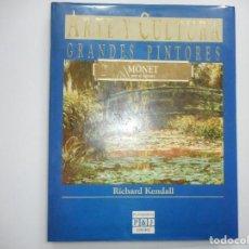 Libros de segunda mano: RICHARD KENDALL MONET POR SI MISMO. ARTE Y CULTURA .GRANDES PINTORES Y95009. Lote 170177628