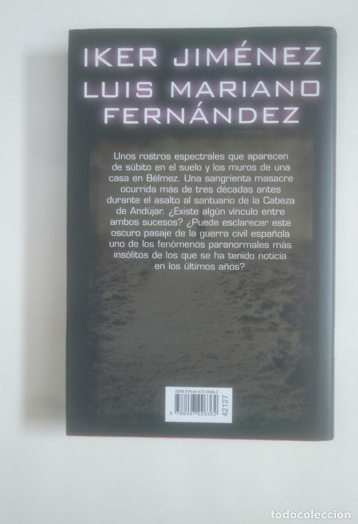 Libros de segunda mano: Tumbas sin nombre. - Iker Jiménez. Luis Mariano Fernández. CIRCULO DE LECTORES. TDK389 - Foto 2 - 170205424