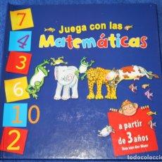 Libros de segunda mano: JUEGA CON LOS MATEMÁTICAS - RON VAN DER MEER - MACMILLAN LITERATURA INFANTIL Y JUVENIL (2011). Lote 170233396