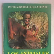 Libros de segunda mano: LOS ANIMALES EN SU MEDIO AMBIENTE.FÉLIX RODRÍGUEZ DE LA FUENTE - EDITORIAL JAIMES LIBROS - AÑO 1976. Lote 170239512