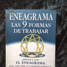 Libros de segunda mano: ENEAGRAMA - 9 FORMAS DE TRABAJAR - GOLDBERG. Lote 170251562