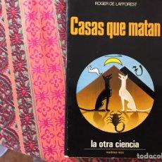 Libros de segunda mano: CASAS QUE MATAN. ROGER DE LAFFOREST.. Lote 170267320
