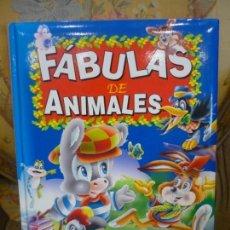 Libros de segunda mano: FÁBULAS DE ANIMALES. ILUSTRACIONES DE JAVIER INARAJA. Lote 170270644
