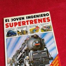 Libros de segunda mano: EL JOVEN INGENIERO SUPERTRENES. PLESA. Lote 170290578