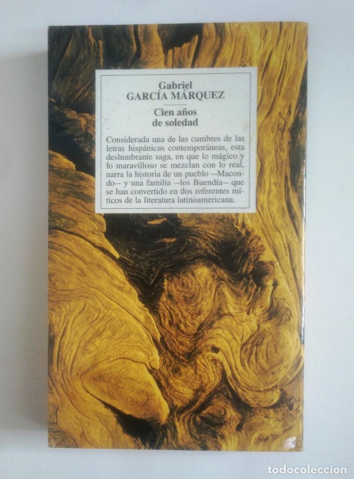 Libros de segunda mano: CIEN AÑOS DE SOLEDAD. GABRIEL GARCIA MARQUEZ. TDK389 - Foto 2 - 170299376