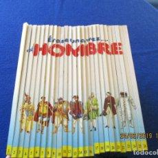 Libros de segunda mano: ÉRASE UNA VEZ EL HOMBRE 26 TOMOS COMPLETA. Lote 170319892
