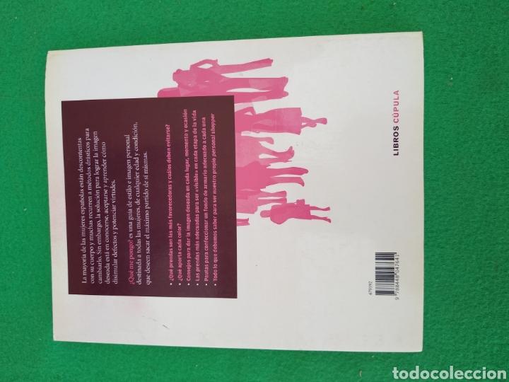 Libros de segunda mano: Que me Pongo - Foto 2 - 170343481