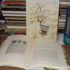 Libros de segunda mano: HISTORIA DE LA VIDA DE CAMPOS. 2 TOMOS ( EDICIÓN FACSÍMIL). FRANCESC TALLADES. 2009. MALLORCA .. Lote 170344896