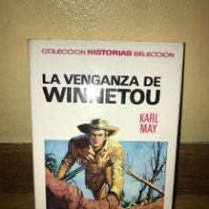 Libros de segunda mano: LA VENGANZA DE WINNETOU KARL MAY NÚMERO 3. Lote 170369732