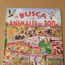 Libros de segunda mano: BUSCA LOS ANIMALES DEL ZOO (SUSAETA). Lote 170387484