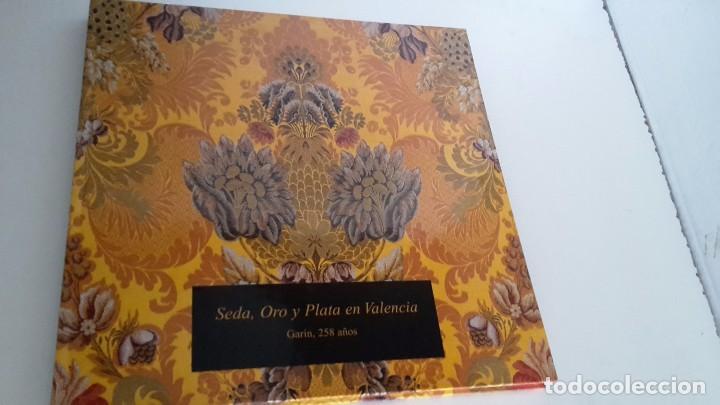 SEDA ORO Y PLATA EN VALENCIA MARIA VICTORIA VICENTE CONESA (Libros de Segunda Mano - Bellas artes, ocio y coleccionismo - Otros)