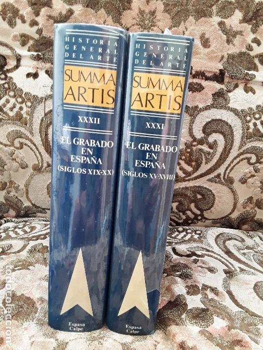 Libros de segunda mano: Summa artis XXXI y XXXII. El grabado en España. Precintados, como nuevos. - Foto 5 - 170440616