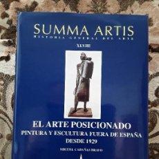 Libros de segunda mano: SUMMA ARTIS XLVIII. EL ARTE POSICIONADO. EXCELENTE ESTADO. ÚNICO EN TC.. Lote 170443412