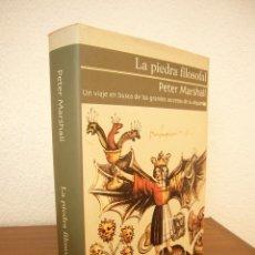 Libros de segunda mano: PETER MARSHALL: LA PIEDRA FILOSOFAL. EN BUSCA DE LOS GRANDES SECRETOS DE LA ALQUIMIA (GRIJALBO) RARO. Lote 170445228