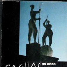Libros de segunda mano: CASILLAS, 40 AÑOS DE ESCULTURA. PALACIO DE LASALINA, DIPUTACIÓN DE SALAMANCA. Lote 170473801