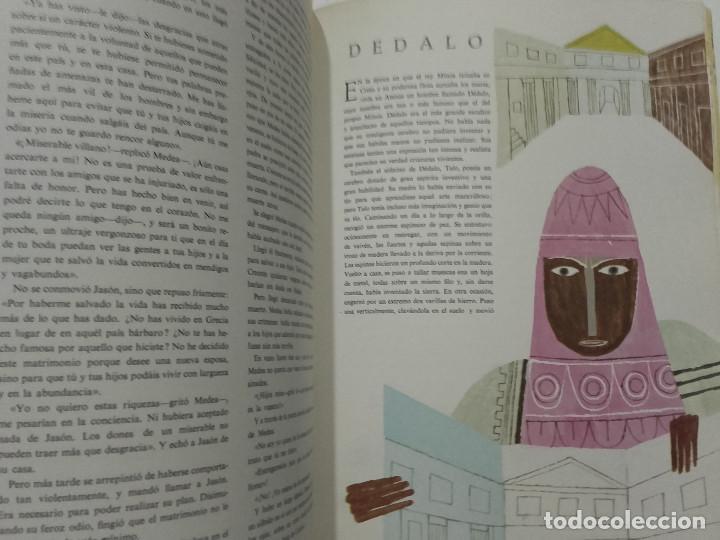 Libros de segunda mano: MITOS Y LEYENDAS. MARAVILLAS DEL MUNDO - EL GRAN LIBRO DE ORO - EDICIONES GAISA - 1968 - Foto 6 - 170503528
