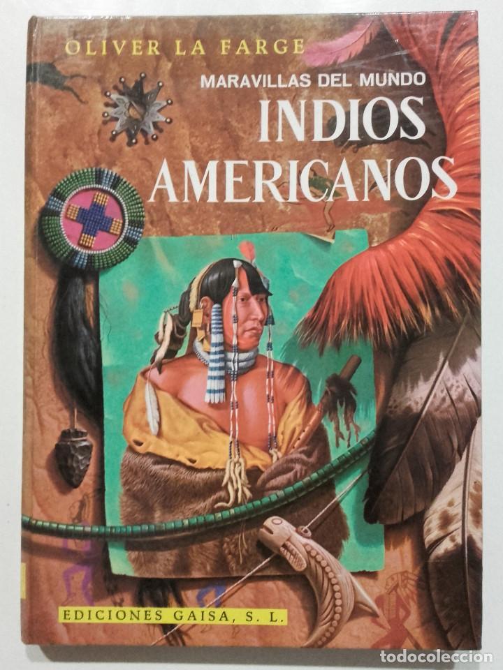 INDIOS AMERICANOS. MARAVILLAS DEL MUNDO - EDICIONES GAISA - 1968 (Libros de Segunda Mano - Literatura Infantil y Juvenil - Otros)