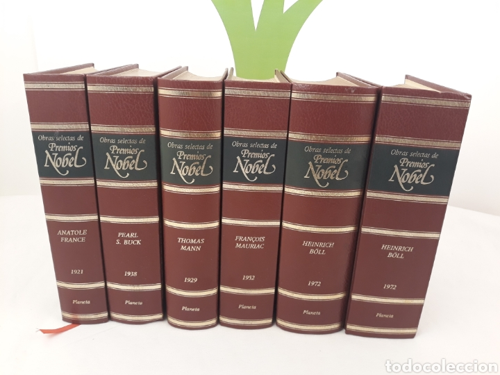 OBRAS SELECTAS DE PREMIOS NOBEL 6 TOMOS.ED PLANETA.INCOMPLETO. (Libros de Segunda Mano (posteriores a 1936) - Literatura - Otros)