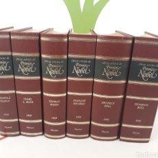 Libros de segunda mano: OBRAS SELECTAS DE PREMIOS NOBEL 6 TOMOS.ED PLANETA.INCOMPLETO.. Lote 170511506