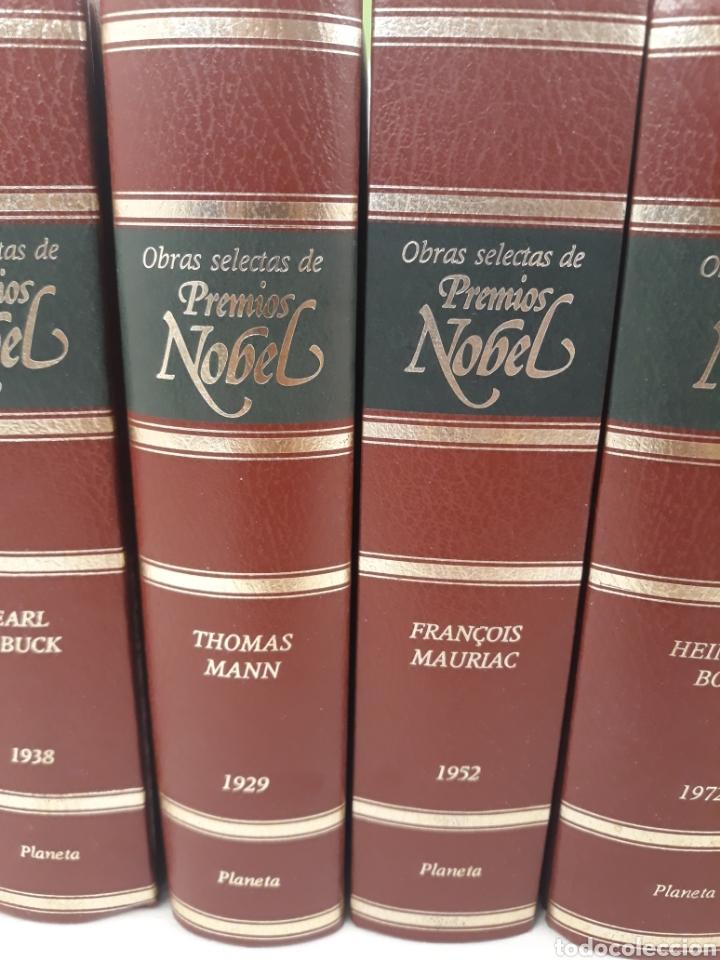 Libros de segunda mano: Obras selectas de premios Nobel 6 tomos.Ed planeta.Incompleto. - Foto 3 - 170511506