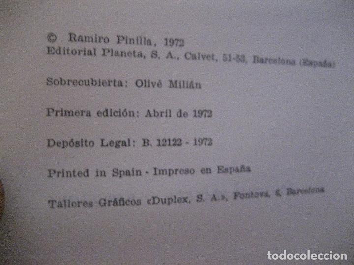 Libros de segunda mano: SENO RAMIRO PINILLA , 1º EDICION 1972 DEDICATORIA DEL AUTOR - Foto 6 - 170581265