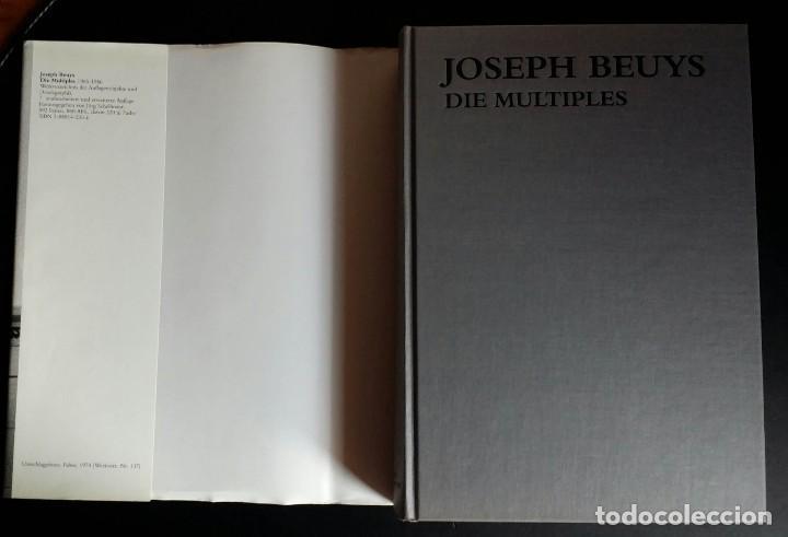 Libros de segunda mano: Joseph BEUYS, CATALOGO RAZONADO de Múltiples, SCHELLMANN - Foto 2 - 168494216