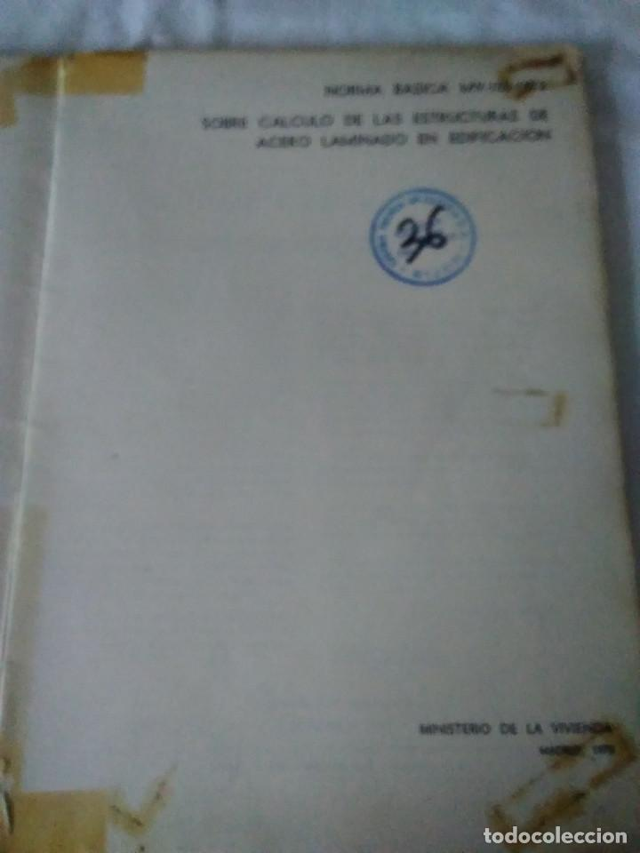 Libros de segunda mano: 87-CALCULO DE ESTRUCTURAS , EDIFICACION, 1973 - Foto 2 - 170768910