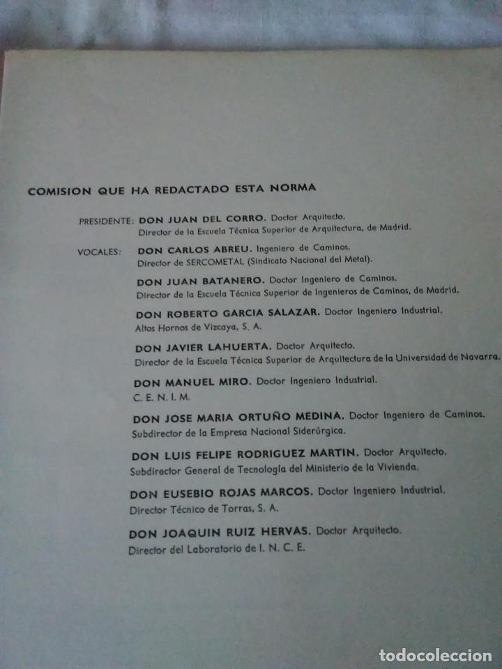 Libros de segunda mano: 87-CALCULO DE ESTRUCTURAS , EDIFICACION, 1973 - Foto 4 - 170768910