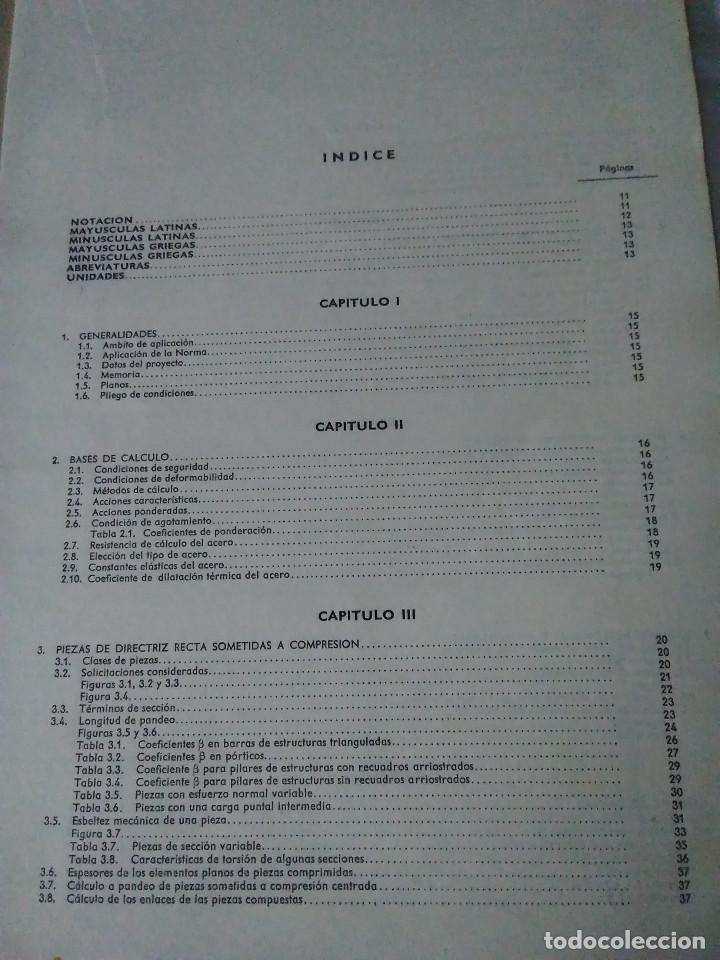 Libros de segunda mano: 87-CALCULO DE ESTRUCTURAS , EDIFICACION, 1973 - Foto 5 - 170768910
