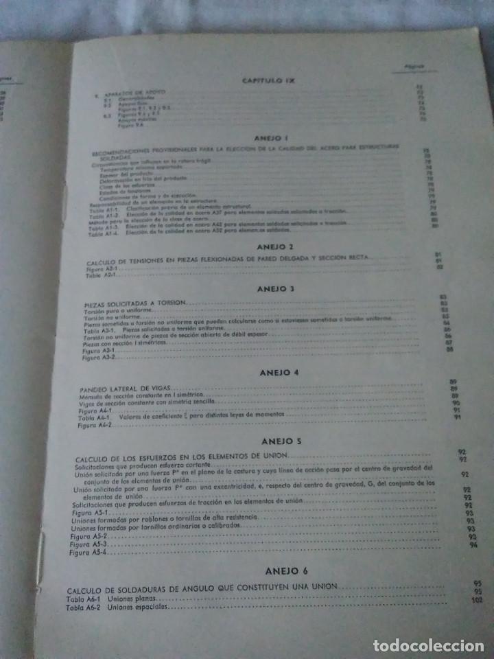 Libros de segunda mano: 87-CALCULO DE ESTRUCTURAS , EDIFICACION, 1973 - Foto 7 - 170768910