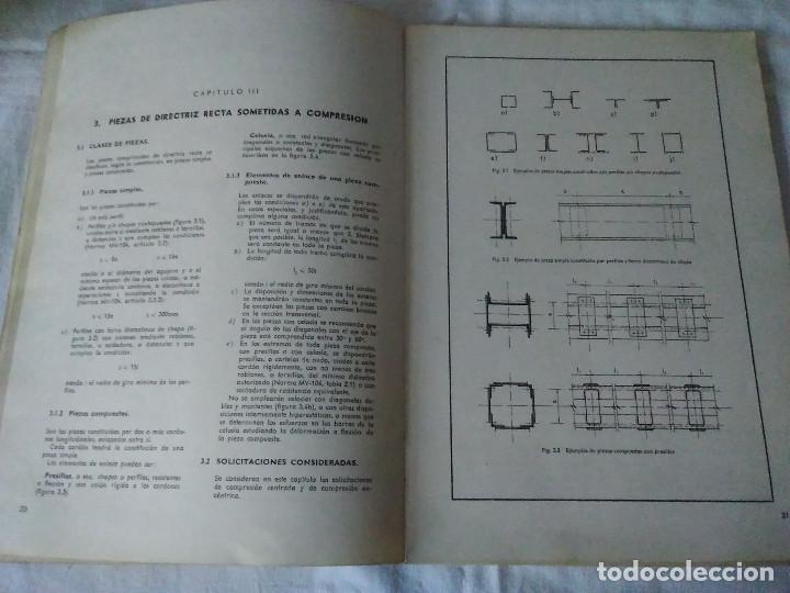 Libros de segunda mano: 87-CALCULO DE ESTRUCTURAS , EDIFICACION, 1973 - Foto 8 - 170768910
