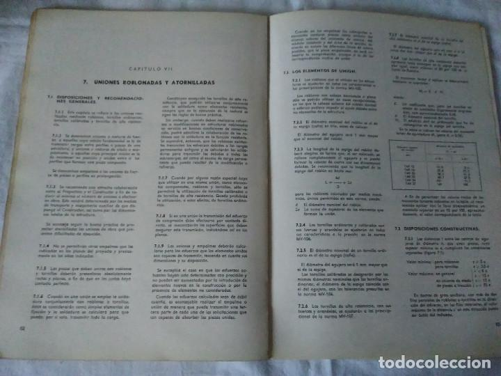 Libros de segunda mano: 87-CALCULO DE ESTRUCTURAS , EDIFICACION, 1973 - Foto 9 - 170768910