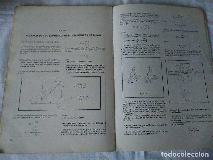 Libros de segunda mano: 87-CALCULO DE ESTRUCTURAS , EDIFICACION, 1973 - Foto 10 - 170768910