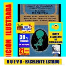 Libros de segunda mano: EL LIBRO DEL MISTERIO JACQUES BERGIER / GALLET MISTERIOS ENIGMAS OVNIS FENÓMENOS EXTRAÑOS FORTEANOS. Lote 170855370