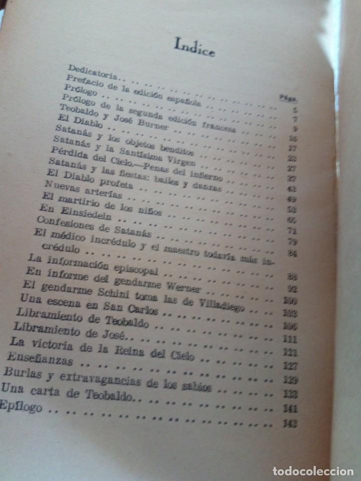 Libros de segunda mano: Pablo Sutter, párroco de Eichhoffen - El Diablo. Sus palabras, su acción en los endemoniados... - Foto 7 - 170958418