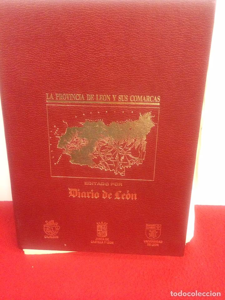 LA PROVINCIA DE LEON Y SUS COMARCAS (Libros de Segunda Mano - Bellas artes, ocio y coleccionismo - Otros)