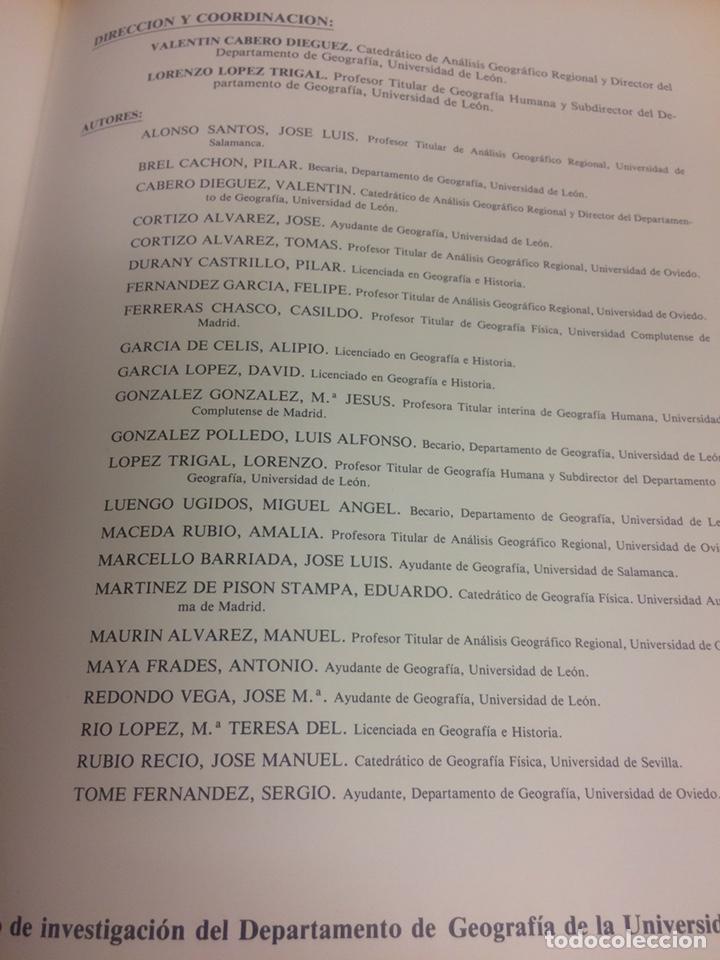 Libros de segunda mano: La provincia de Leon y sus comarcas - Foto 3 - 208156173