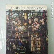 Libros de segunda mano: LIBRO HISTORIA DEL PUEBLO VASCO AUÑAMENDI . Lote 170854100