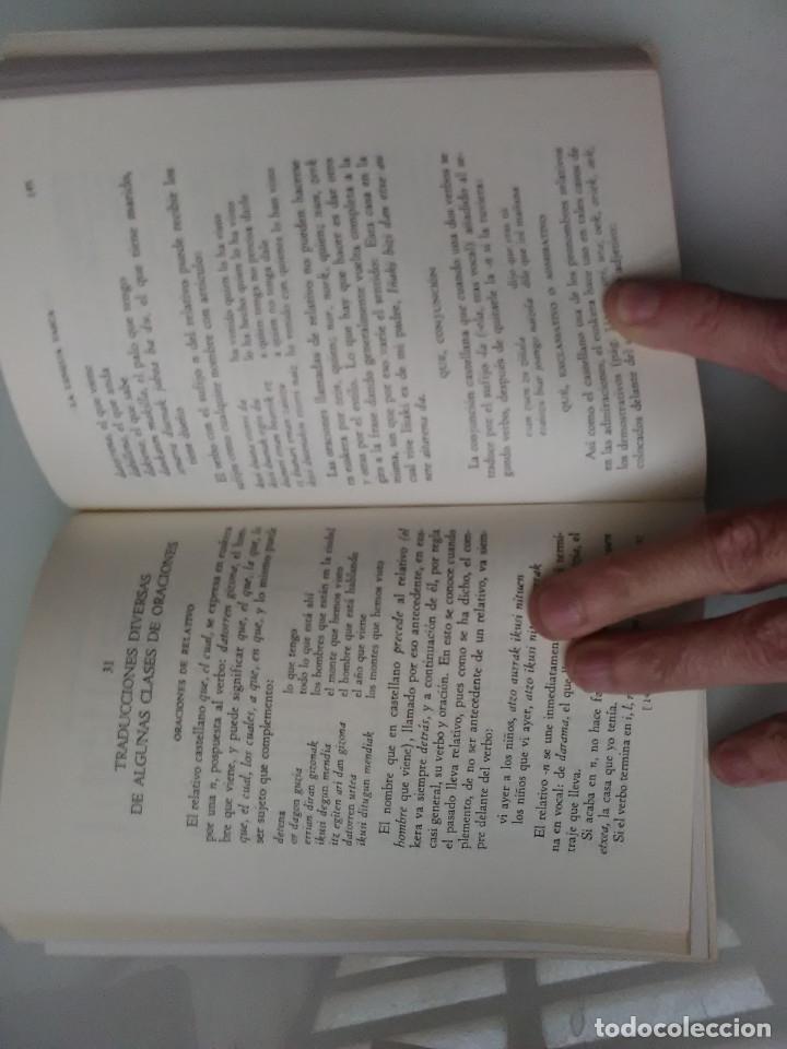 Libros de segunda mano: LIBRO LA LENGUA VASCA MENDIZABAL GRAMATICA CONVERSACION DICCIONARIO - Foto 2 - 171038414
