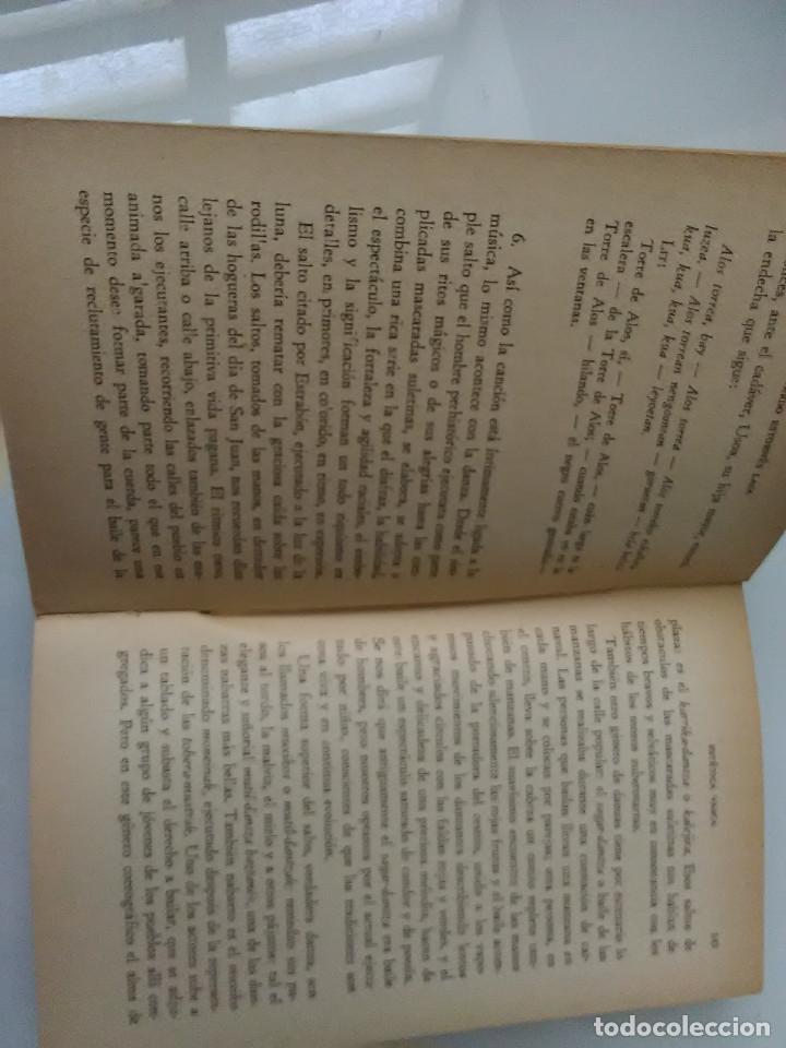 Libros de segunda mano: LIBRO ESTETICA VASCA BIBLIOTECA DE LA CULTURA VASCA POR ESTORNES LASA - Foto 2 - 171039672