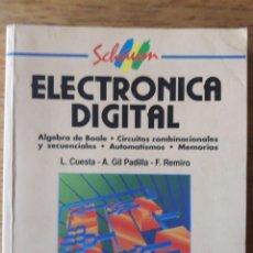 Libros de segunda mano: ELECTRÓNICA ANALÓGICA / L. CUESTA Y OTROS / EDI. MCGRAWHILL / EDICIÓN 1993. Lote 171046767