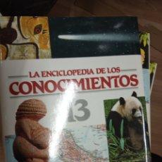 Libros de segunda mano: LA ENCICLOPEDIA DE LOS CONOCIMIENTOS, 16 VOLS. - OCEANO, 1994.. Lote 171056003