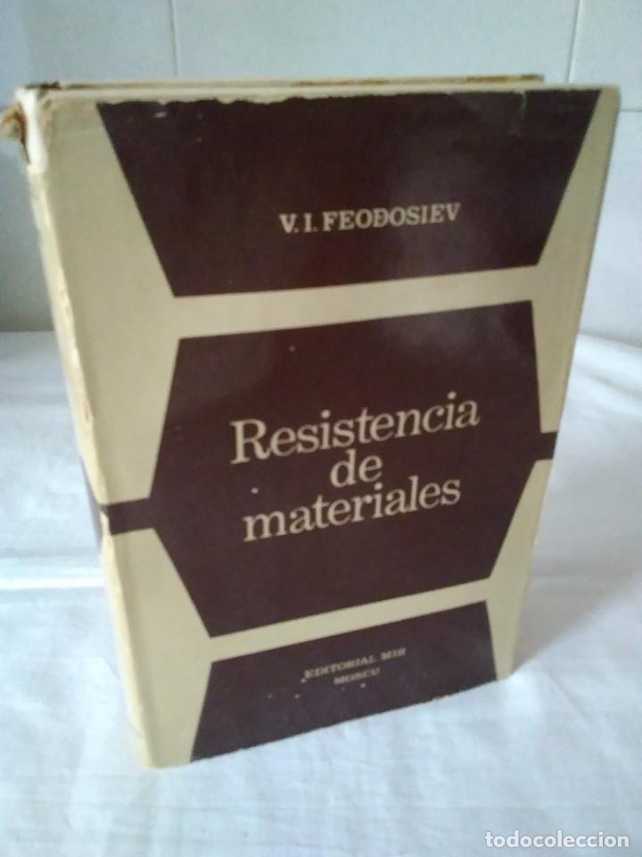 78-RESISTENCIA DE MATERIALES , V.I. FEODOSIEV, MOSCU, 1980 (Libros de Segunda Mano - Ciencias, Manuales y Oficios - Otros)