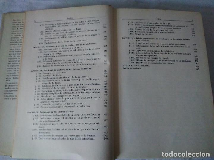 Libros de segunda mano: 78-RESISTENCIA DE MATERIALES , V.I. Feodosiev, Moscu, 1980 - Foto 6 - 171058780
