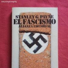 Libros de segunda mano: EL FASCISMO-STANLEY G. PAYNE.. Lote 171064074