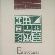 Libros de segunda mano: NORMAS TÉCNICAS DE EDIFICACIÓN. ESTRUCTURAS. Lote 171069857